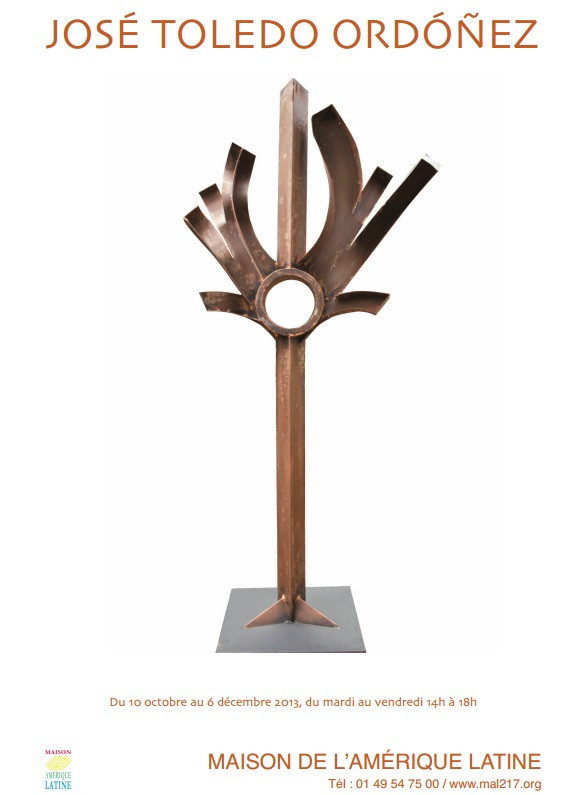 03.12.2014-Invitación París, Casa de América Latina, Expo Esculturas Peligrosas