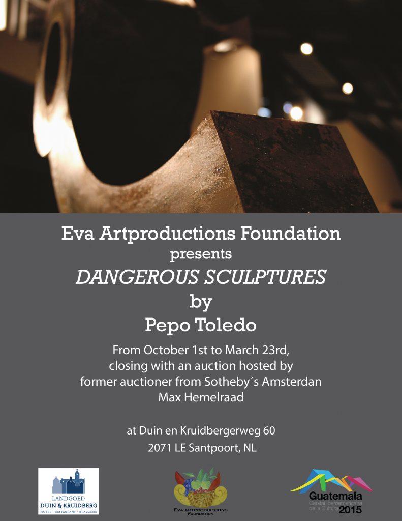 10.1.14-Poster-Holanda-Amsterdam-Duin-Kruidberg-Expo-Esculturas-Peligrosas