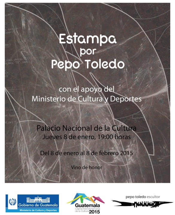 5.1.2015 - Expo Estampa por Pepo Toledo