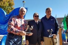 7 Mark Simon, Pepo Toledo y Chip Pollard