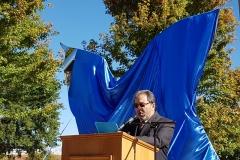 8 Pepo Toledo pronunciando su discurso de inauguración