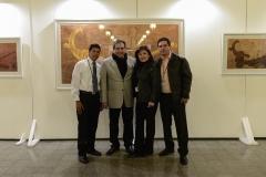 Christian González, Mónica de León, Álvaro Cuessi y Pepo Toledo