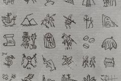 Pepoglifos para Imago Mundi