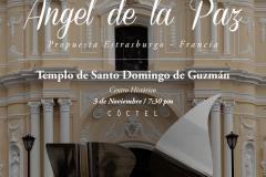 Ángel de la Paz, Templo Santo Domingo de Guzmán 3NV15