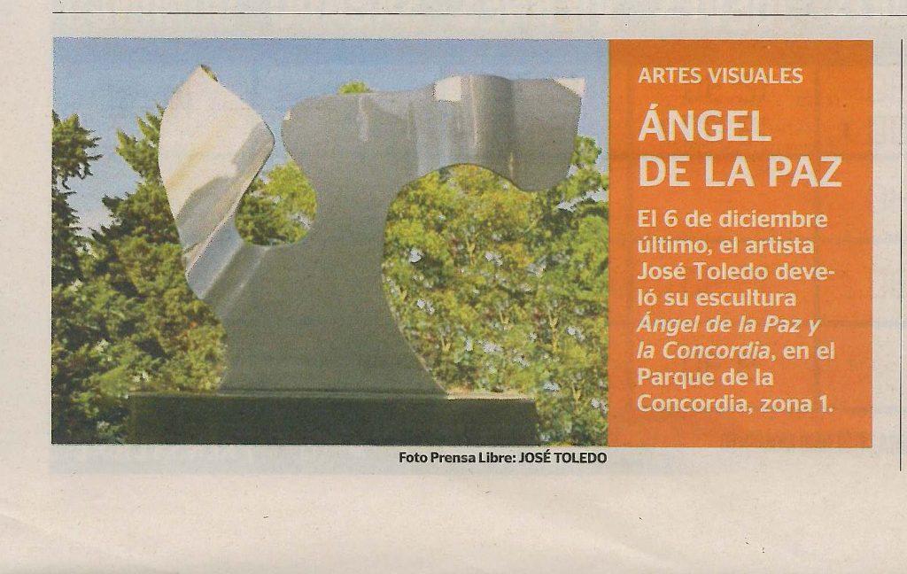 Angel de la paz Prensa Libre, 24DC12