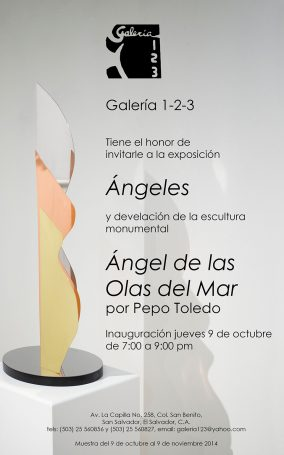 10.9.14-El-Salvador,-Galería-123,-Expo-Ángeles-y-Escultura-Urbana