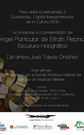 12.12.14-Guatemala,-Fundación-G&T,-Escultura-Holográfica