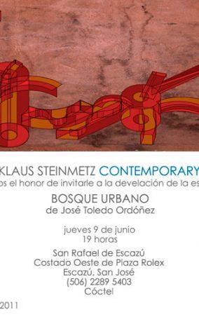 6.9.11-Costa-Rica,-Galería-Klaus-Steinmetz,-Escultura-Urbana-y-Expo-Bosque-Urbano