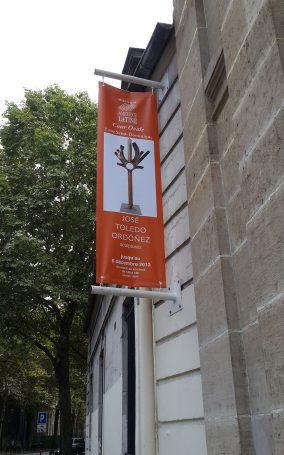 Estandarte--10.9.13-París,-Casa-de-América-Latina,-Expo-Esculturas-Peligrosas